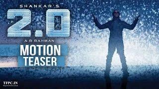 2.0 First Motion Poster - Rajinikanth, Shankar