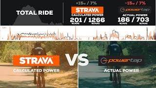 I went out and ran my garmin with my Powertap P1 pedals for an hour, as well as had my phone on me. So I am able to show a side by side comparison of just how accurate Strava calculated power is compared to actual power from powertap. I did 20 min at zone 4, 2 min at z6, 2 min at zone 2 and some other segments. This is a great cycling video to show just how accurate strava power is.  STRAVA FILES --- Strava power - https://www.strava.com/activities/1061252771/analysisPowertap Power - https://www.strava.com/activities/1061275330/analysisMusic by Andrew Apple pie - https://www.youtube.com/watch?v=Gj9bMSXS7rs follow me bruhhttps://www.facebook.com/theVeganCyclisthttps://www.strava.com/athletes/180549https://www.instagram.com/the_vegan_cyclist/