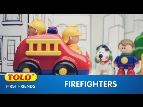 Firefighter First Friends Products Tolo Toys Award Winning