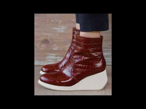 VERY VERY SOFT LEATHER MADE BEST QUALITY CHIEMIHARA BOOTS DESIGN… видео