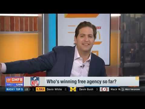 Who's winning free agency so far   Good Morning Football Today