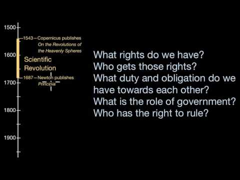 the scientific revolution and the age of enlightenment  world  the scientific revolution and the age of enlightenment  world history   khan academy video  khan academy