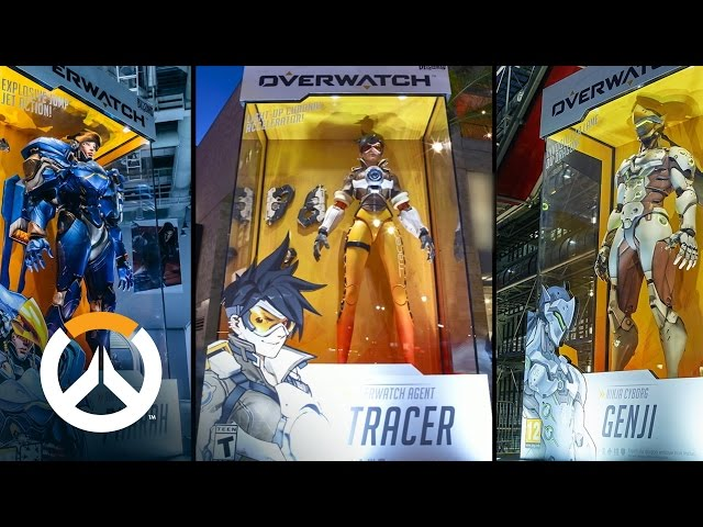 Colossal Collectibles | The Making of Overwatch's Oversized Action Figures
