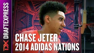2014 Chase Jeter Interview - DraftExpress - Adidas Nations