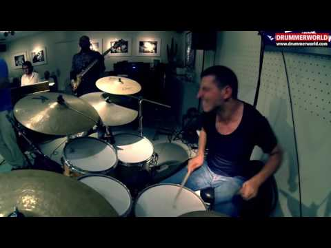 Nicolas Viccaro: Drum Solo with Bill Evans - Etienne Mbappe - Fred Dupont