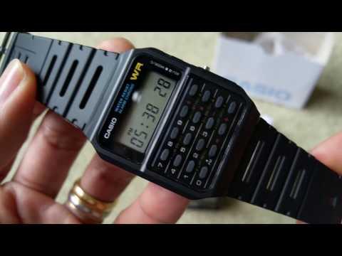 Unboxing New Casio Calculator Men's Wrist Watch CA53W Full HD 2017