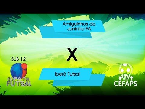 23/08/15 - Sub 12 - Copa TVI - Amiguinhos do Juninho x Iperó futsal