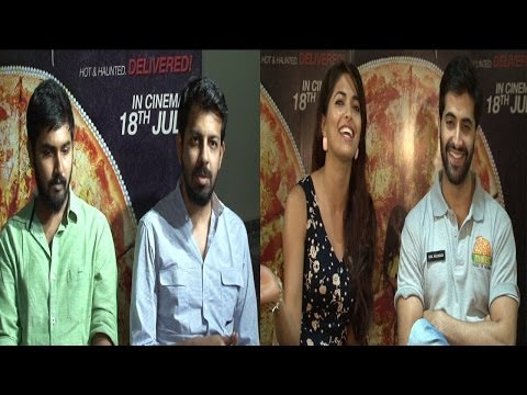 Interview With Cast And Crew Of Movie Pizza