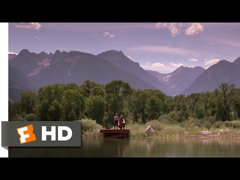 A River Runs Through It (1/8) Movie CLIP - Learning to Fish and Write (1992) HD