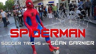 Khi bóng đá kết hợp với người nhện