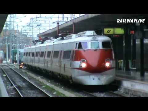 ETR 450 - Remember the First Italian Tilting Train in Rome (HD)