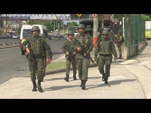 Ρίο: 9000 στρατιώτες στους δρόμους για το καρναβάλι
