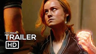 CAPTAIN MARVEL Final Trailer (2019) Brie Larson, Marvel Superhero Movie HD