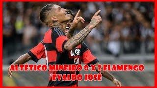 Copa Sul-Minas-Rio 2016 Jogo: Atlético MG 0 x 2 Flamengo Gols: Paolo Guerrero (2) Estádio: Mineirão, Belo Horizonte (MG)...