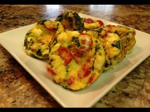 Mediterranean Recipe: Oven Baked Egg Muffin – Breakfast