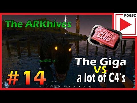 Gigantosurusen mot 100 stykker C4!Vil det lykkes eller trenger vi hjelp fra noen?