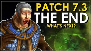 Let's delve into the ending of Patch 7.3 and what it could mean for the future of World of Warcraft.●Twitter - https://twitter.com/BellularGaming●I Stream on Twitch.tv! - http://bit.ly/BellularTwitchWoW News Websites- MMO-Champion.com- WoWHead.com- The WoW Devs are on Twitter (http://wow.joystiq.com/2014/02/25/wow-insiders-guide-to-blizzard-twitter-accounts/)