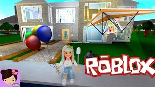 Download Lagu A Day in Bloxburg - House Tour, Party, Hanggliding - Roblox Roleplay Titi Games Mp3