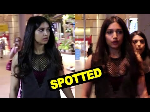 Bhumi Pednekar Spotted At Mumbai Airport