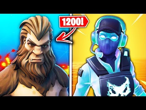 Top 10 NEW Fortnite Skins COMING SOON!