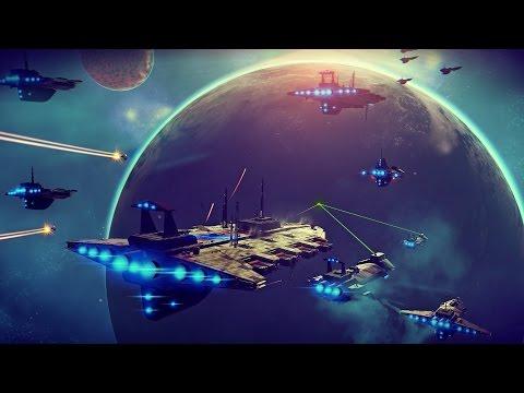 Стрим No Man's Sky: пробуем игру на PC