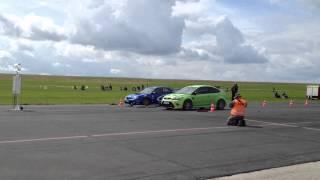 Bitburg Viertelmeile 1on1 Motorsports / Subaru WRX Sti vs. Ford Focus RS Mk2