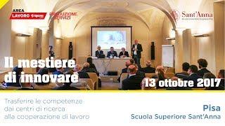 Innovazione: intesa tra Area Lavoro e Scuola Superiore Sant'Anna