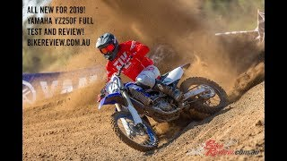 9. 2019 Yamaha YZ250F Review Test