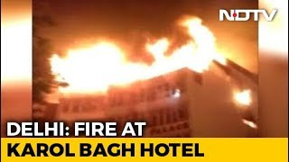 9 Dead In Fire At Hotel In Delhi's Karol Bagh, Rescue Operations Underway