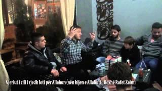 Njeriut i cili i rjedh loti për Allahun (nën hijen e Allahut) - Hoxhë Rafet Zaimi