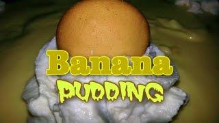 Banana Pudding | How To Make Homemade Banana Pudding