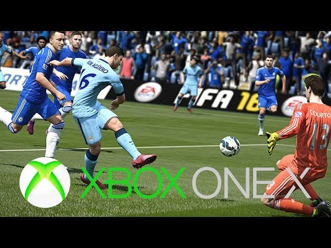 FIFA 18 Xbox One X Gameplay 4K