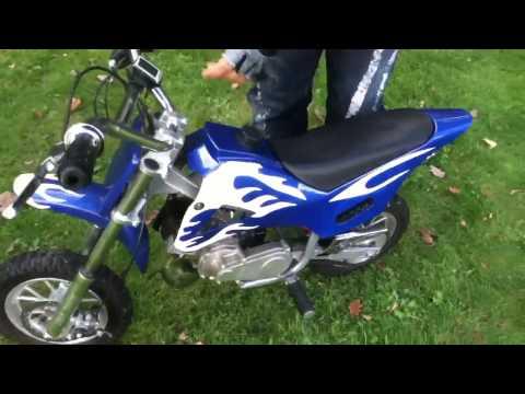 Pocket Bike Test Fahrt [HD/GERMAN] - 70 km/h getunet