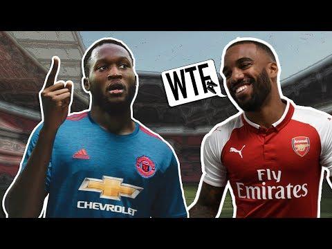 Video: Do Lacazette & Lukaku Make Arsenal & Man United Title Favorites?