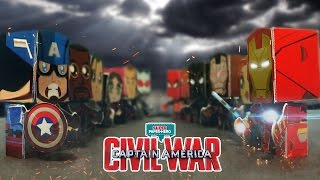 Video Captain america Civil war (Stop motion) download in MP3, 3GP, MP4, WEBM, AVI, FLV January 2017