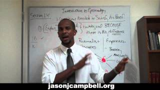 39. Epistemology Lecture Series: Section 1.4