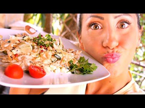 cucinare sano - pasta con panna 100% vegana