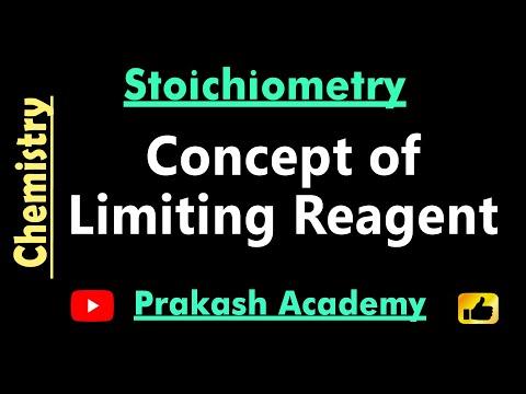 Physikalische Chemie Begrenzung Reagenz Konzept