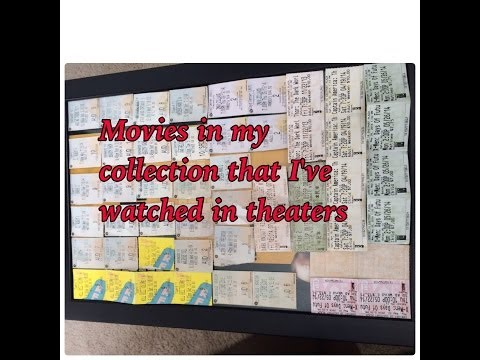 Movies in my collection that I've watched in theaters