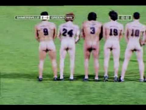 Banned Commercial #15- Naked Football Players in match.