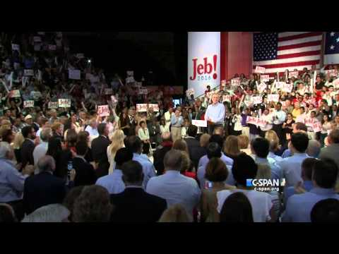 Jeb Bush 2016 Presidential Bid