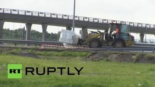 Coquelles France  city images : France: New fence erected as border tightens up near Eurotunnel