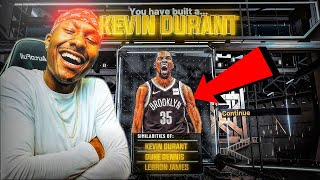 Kevin Durant Build on NBA 2K20 is a DEMIGOD! Best Build NBA 2K20! Demigod Build 2K20! Best SF BUILD!