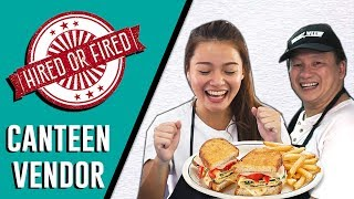 Video Hired or Fired: School Canteen Vendor For A Day At Meridian Junior College MP3, 3GP, MP4, WEBM, AVI, FLV Januari 2019