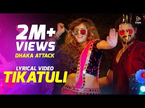 Download Tikatuli | Lyrical Video | Dhaka Attack | Arifin Shuvoo | Mahi | Sanju | Mimo | Dipankar Dipon HD Mp4 3GP Video and MP3