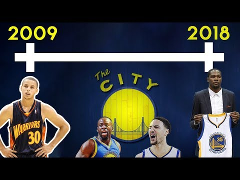 Timeline Of How The Warriors Built A Superteam