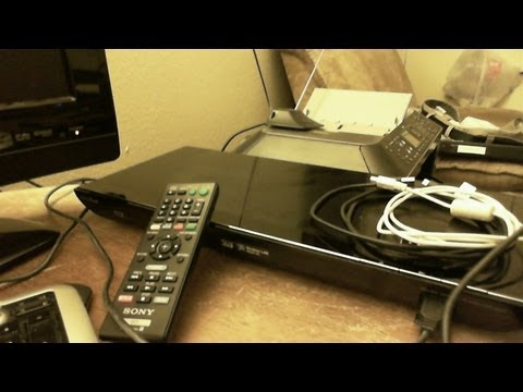 sony blu ray disk - Unboxing and setup of the Sony Blu-ray DVD Player BDP-S590 Howard's Notebook: http://hnbbs.net.