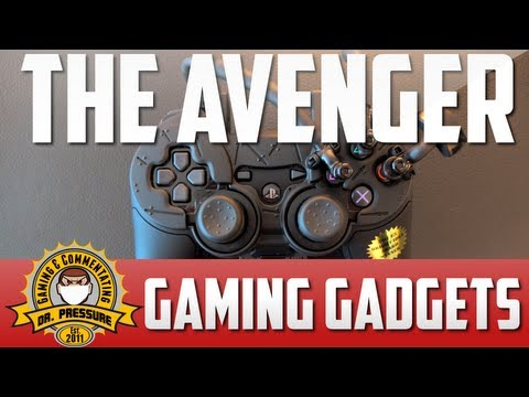 Dr. Pressures Gadgets: The Avenger | PS3 & Xbox | The Ultimate Gaming Advantage | Test & Review | HD