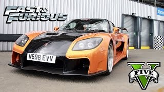 Nonton GTA 5 FAST AND FURIOUS Mazda RX 7 Veilside Fortune DRIFT KING Film Subtitle Indonesia Streaming Movie Download
