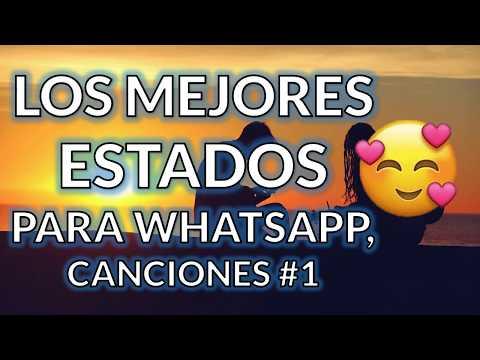 Frases para whatsapp - ESTADOS PARA WHATSAPP DE CANCIONES  Frases de Amor, Estados Bonitos, Originales y Cortos #1
